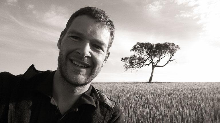 John with Balliang tree