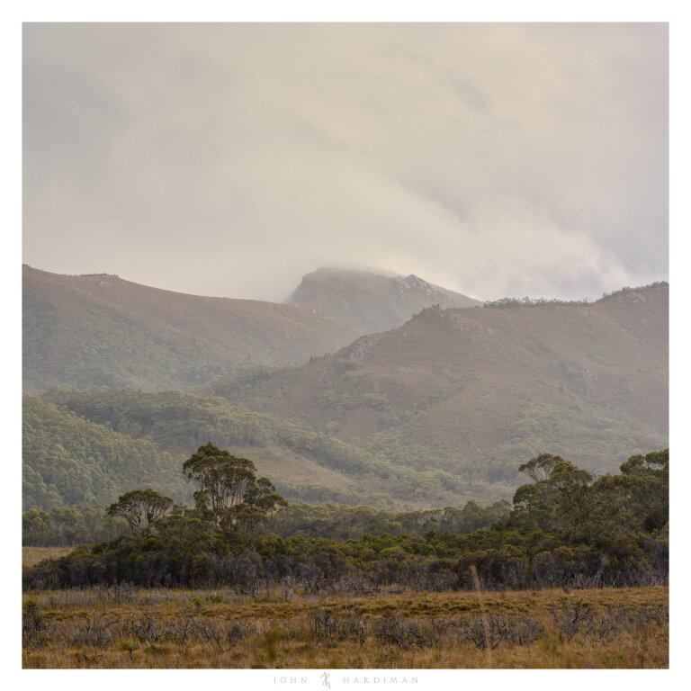 Mountain peaks, South West Tasmania