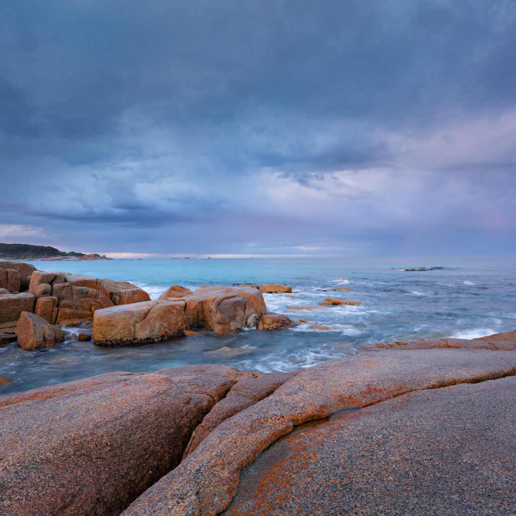 Passing Storm, Bay of Fires