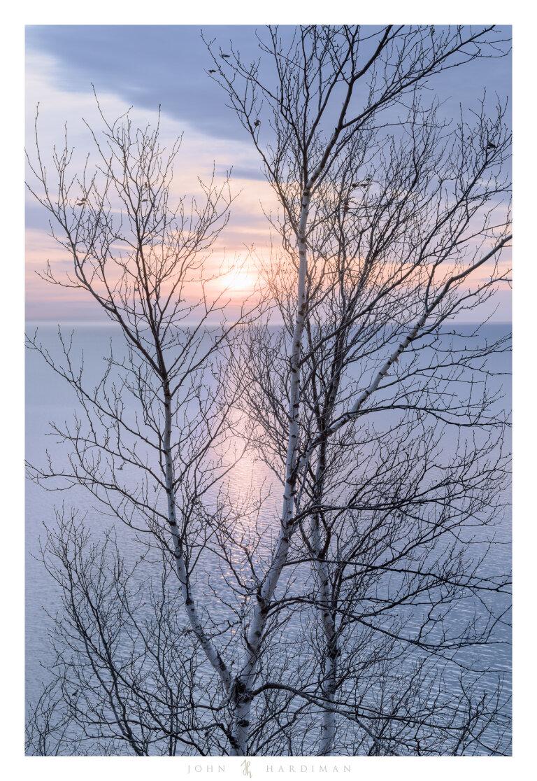 Silhouette, Lake Michigan
