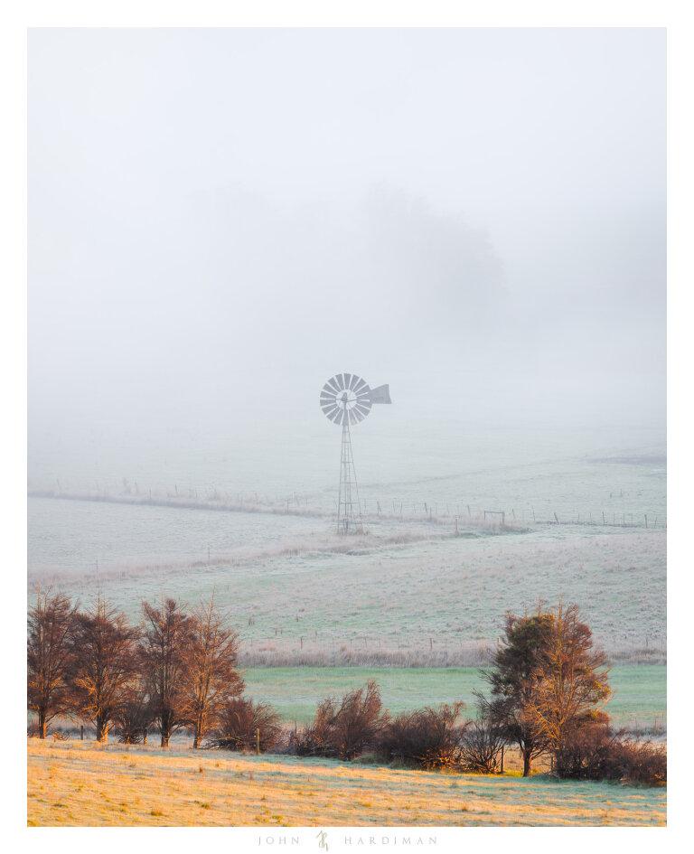 Lone Windmill, Yarra Valley, Victoria