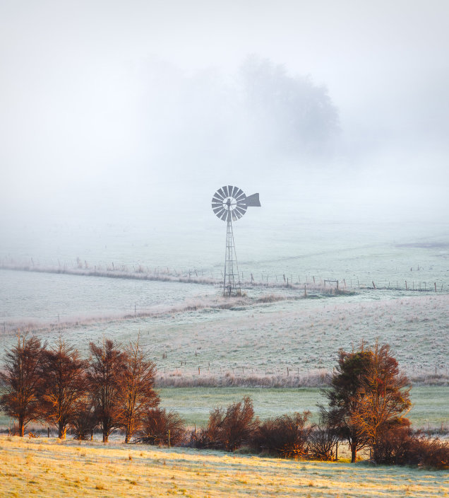 Lone Windmill, Yarra Valley, Victoria