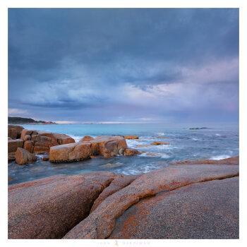 Passing Storm, Bay of Fires, Tasmania