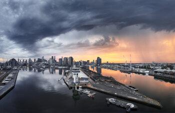 Docklands Storm, Melbourne